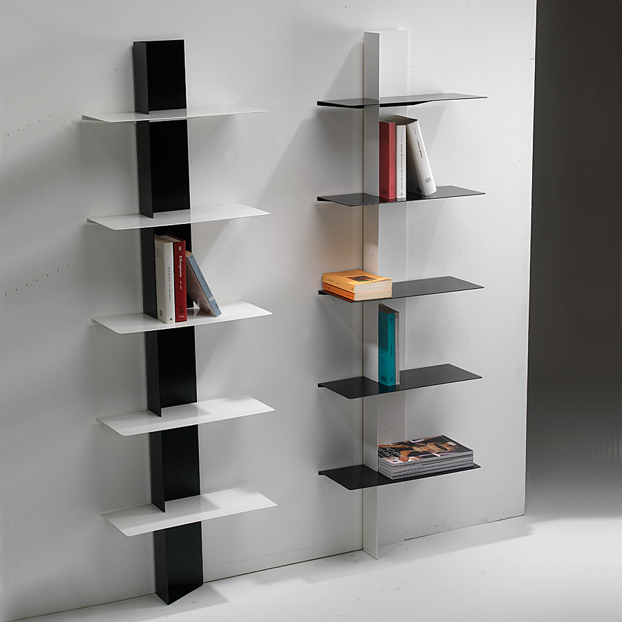 Libreria da parete design lui arredamenti for Mensole design on line