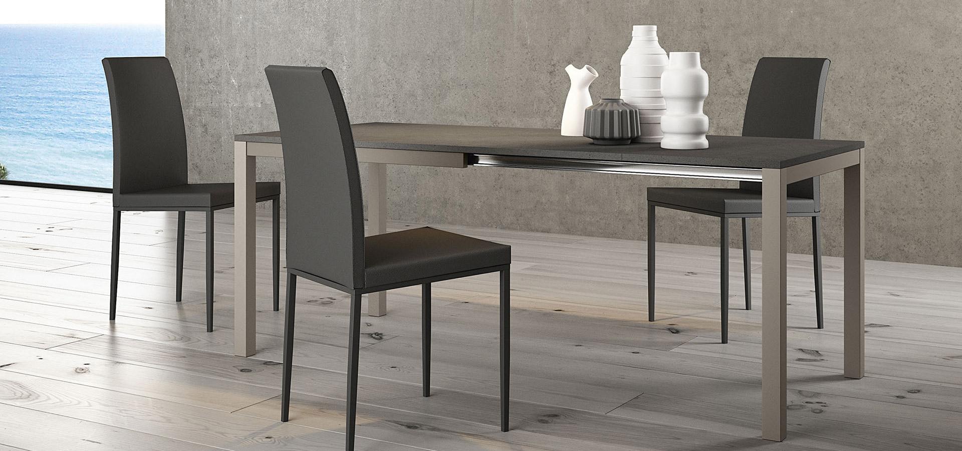 Tavolo matrix lui arredamenti - Dimensioni tavoli da cucina ...