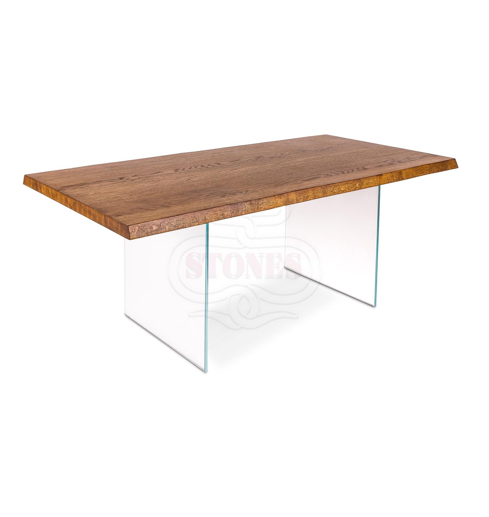 Tavolo vetro e legno Snooker – Lui Arredamenti